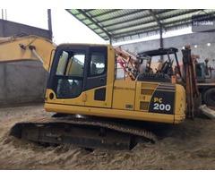Sewa Alat berat Excavator komatsu PC 200 Murah