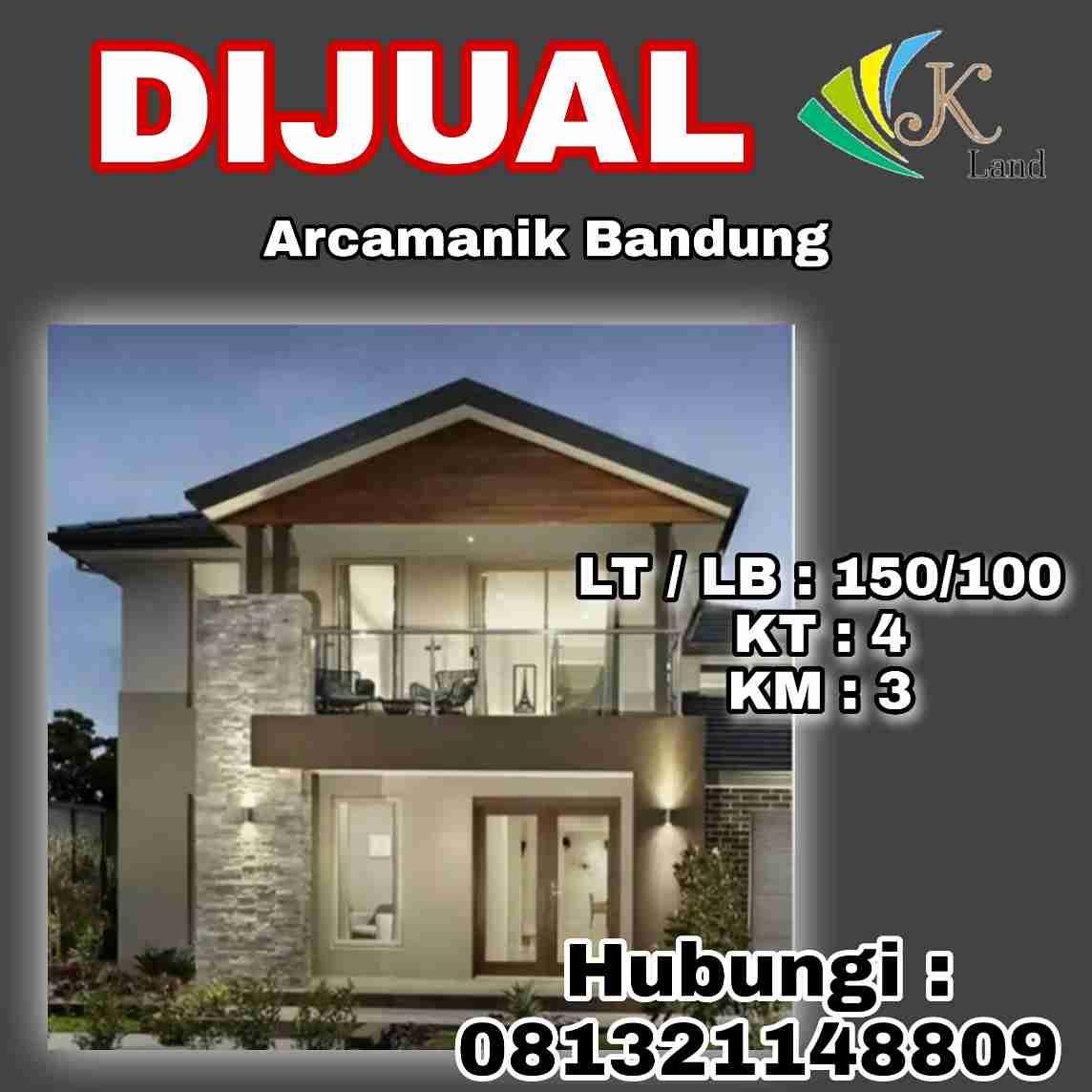 Dijual Rumah Premium Arcamanik Bandung