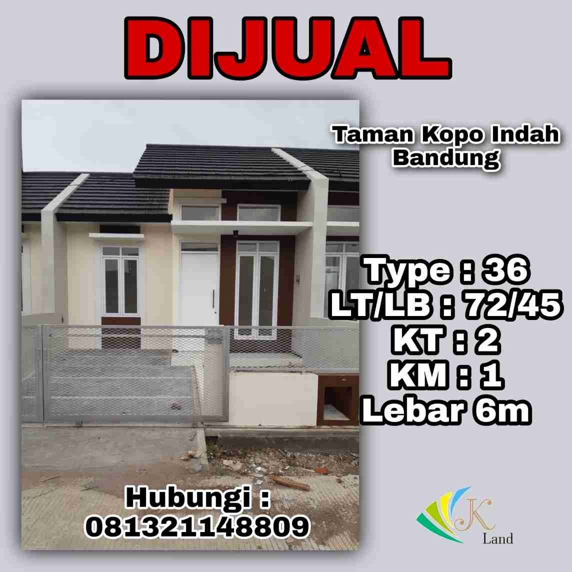 Rumah Nyaman Greenville Bandung