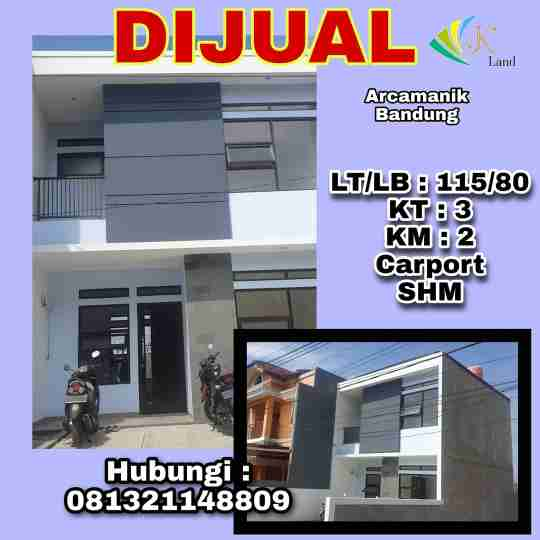 Dijual Rumah Nyaman Arcamanik Bandung