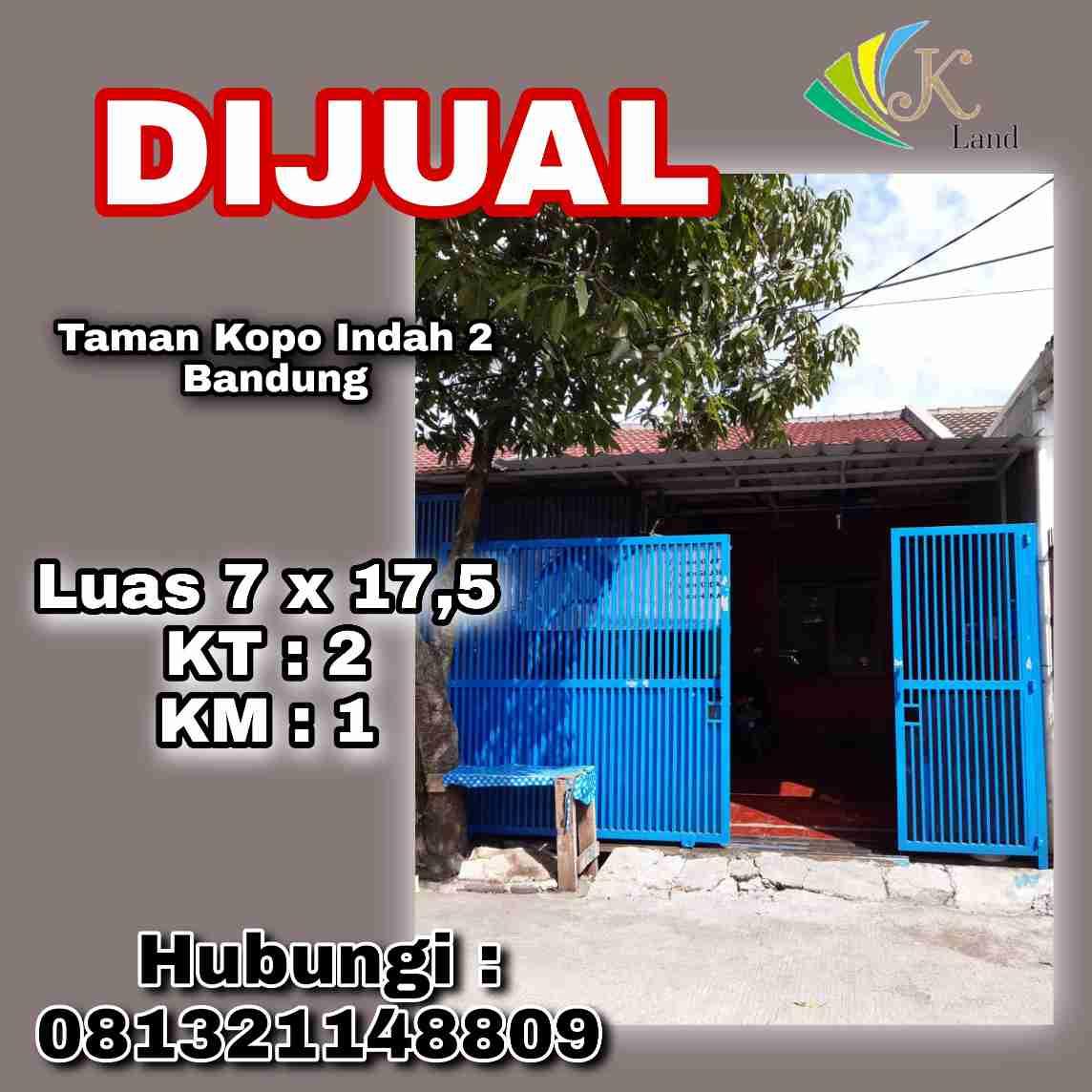 Dijual Rumah Di Taman Kopo Indah Bandung