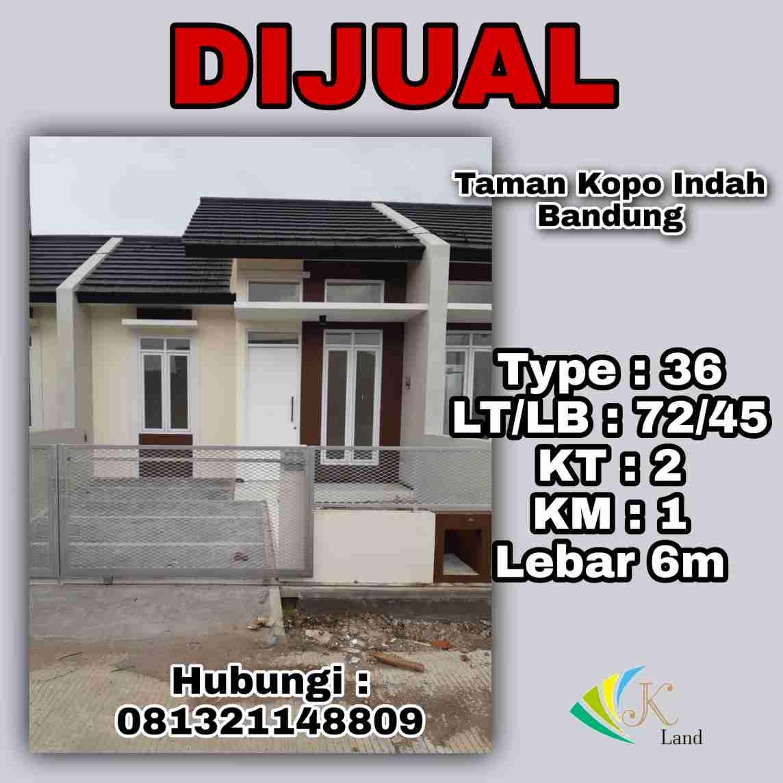 Dijual Rumah Greenville Bandung