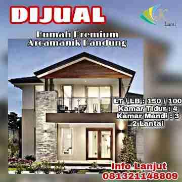 Rumah Premium 2 LT Dekat Griya Arcamanik Bandung Timur