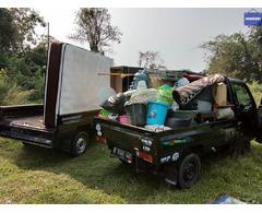 Mobil barang jasa angkut sewa / rental pick up & truck engkel