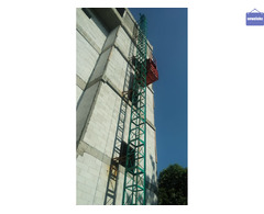 lift hoist gedung dan apartemen