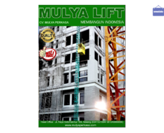 Sewa Lift Barang Material Proyek (Mulya Lift)
