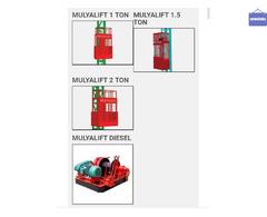 Sewa Lift Barang Malang // Material Lift // Lift Proyek // Alimax Murah Malang