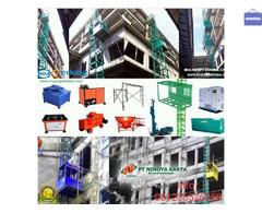 Sewa Lift Barang Jawa Timur // Material Lift // Lift Proyek Jombang