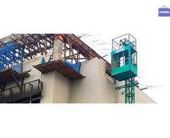 Sewa lift barang / sewa lift material / sewa alimak / sewa hoist / sewa alat proyek di solo surakart