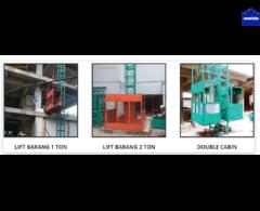 sewa lift barang / sewa alimak / sewa material lift / sewa PH di surabaya