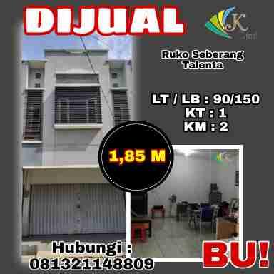 Dijual Ruko Lokasi Strategis Taman Kopo Indah Bandung