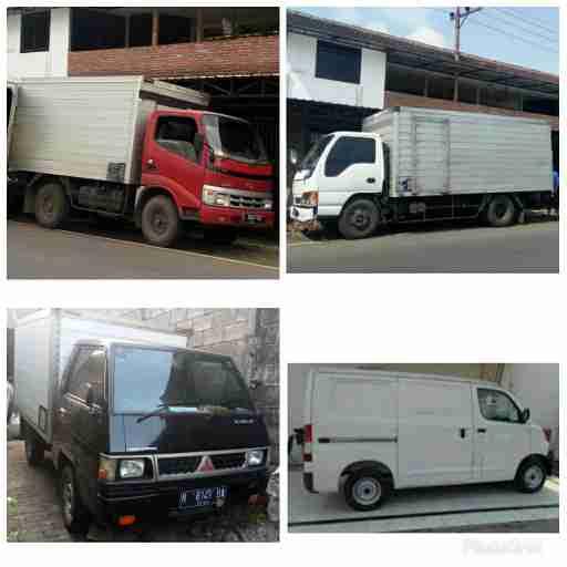sewa / carter mobil pick up box malang
