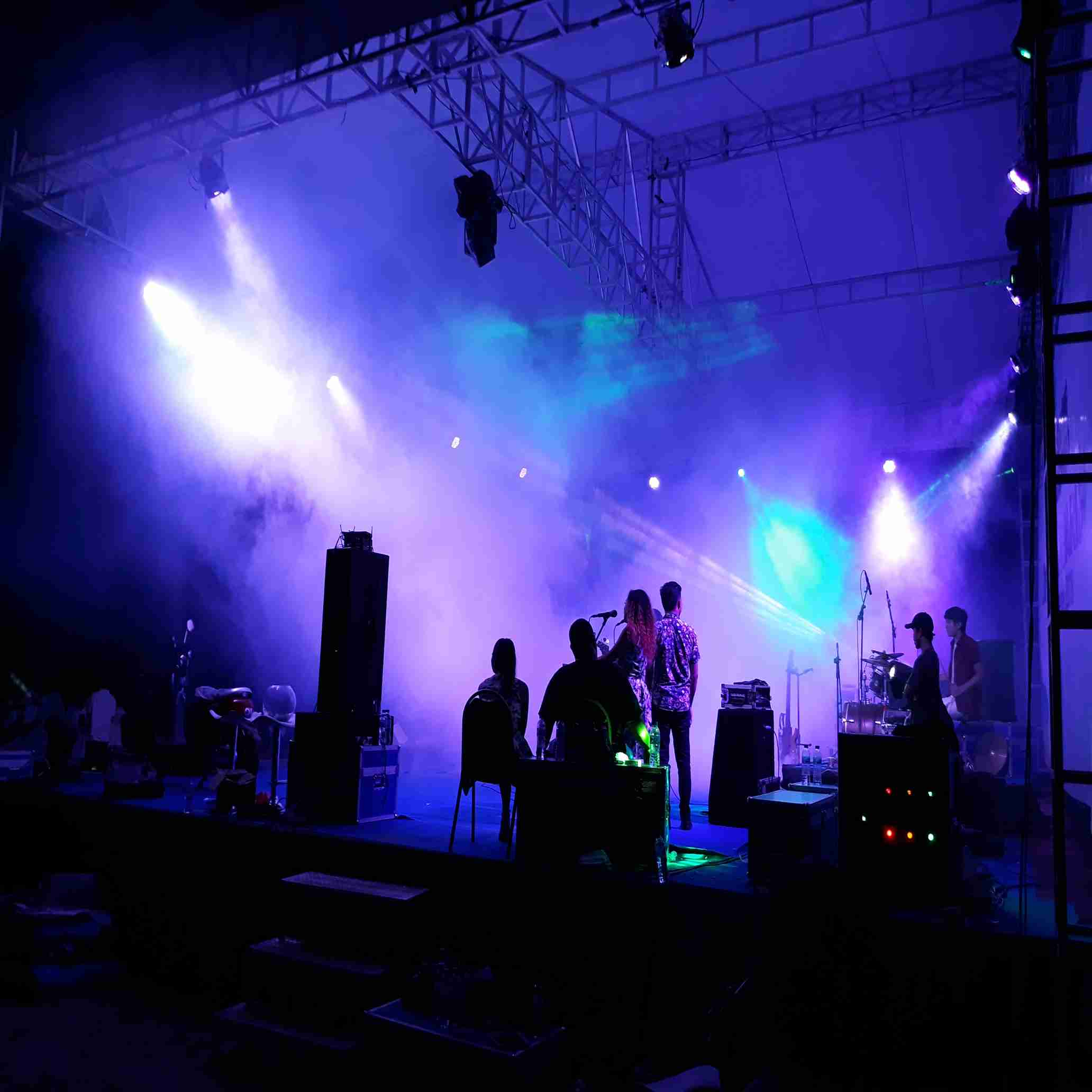 rental lighting , sound system,