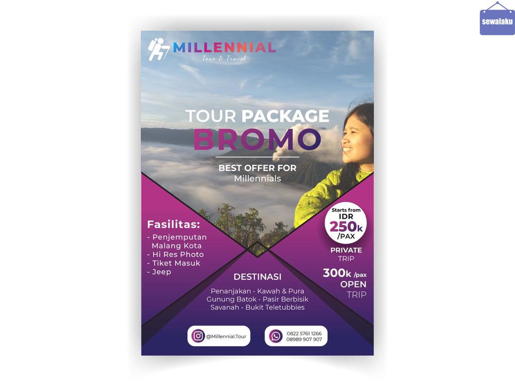 Jasa Tour Bromo Murah MILLENNIAL