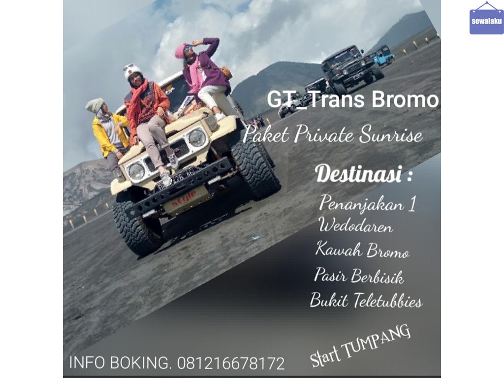 Paket Wisata Tour  Bromo Midnight Murah Terbaik- GT Trans