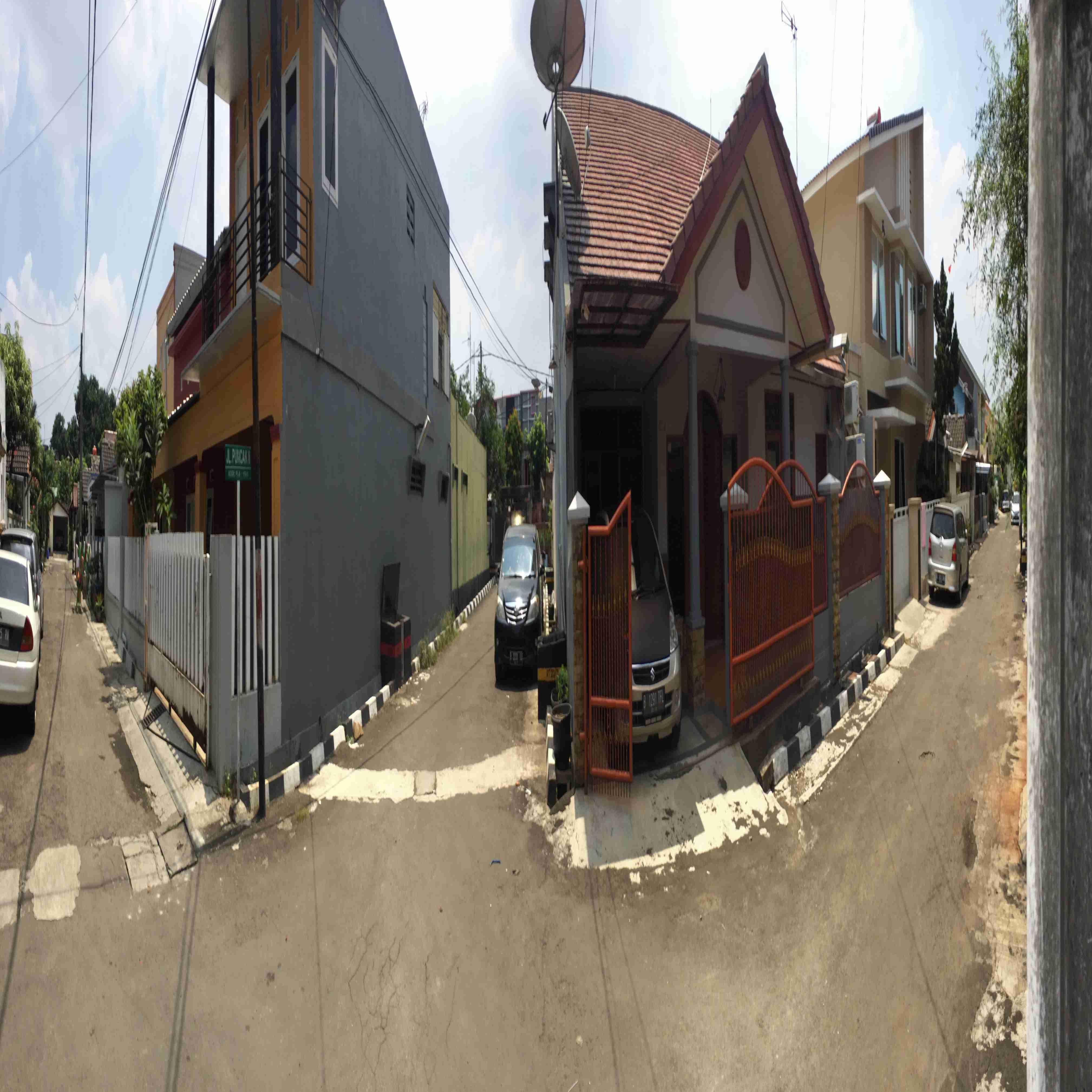 disewakan rumah d jalan tampak Siring VI no. 46B komplek antilop Jatiwaringin 60jt