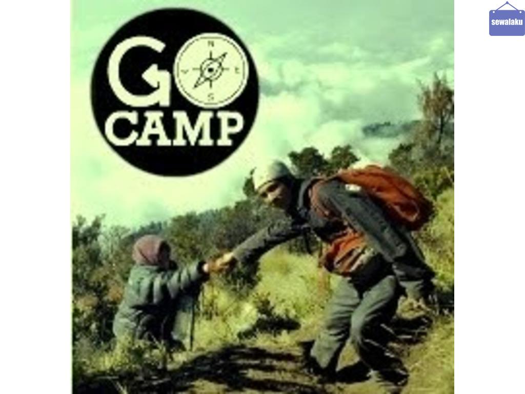 Sewa peralatan Camping
