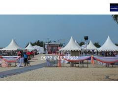 Sewa Tenda Sarnafil | Tenda Kerucut Bazar Murah
