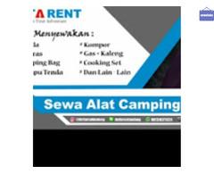 Persewaan alat Outdoor & alat Camping