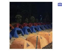 Sewa tenda & alat camping