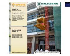 Sewa Lift Barang | Rental Lift Material Pare Pare