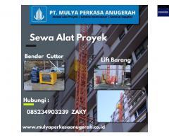 SEWA ALAT PROYEK INDONESIA - PT. MULYA PERKASA ANUGERAH