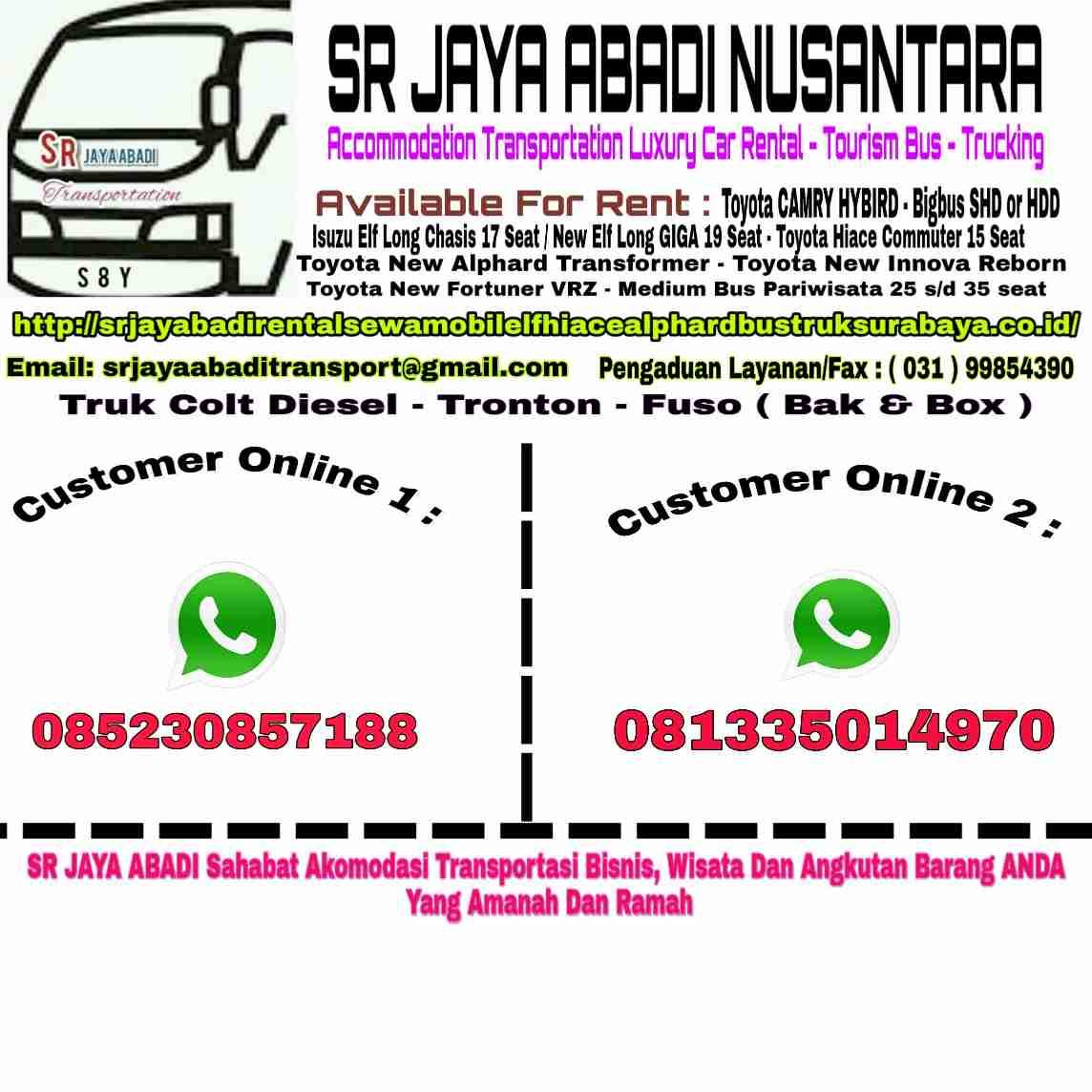 SR JAYA ABADI Rent Surabaya