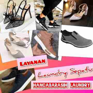 Laundry sepatu di Malang