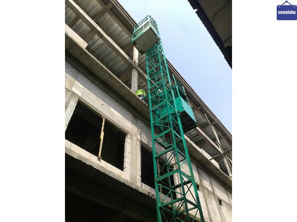 Sewa Alimak Bangkalan || Hoist Murah || Lift Material // Alimak // Lift Barang // Cargo Lift
