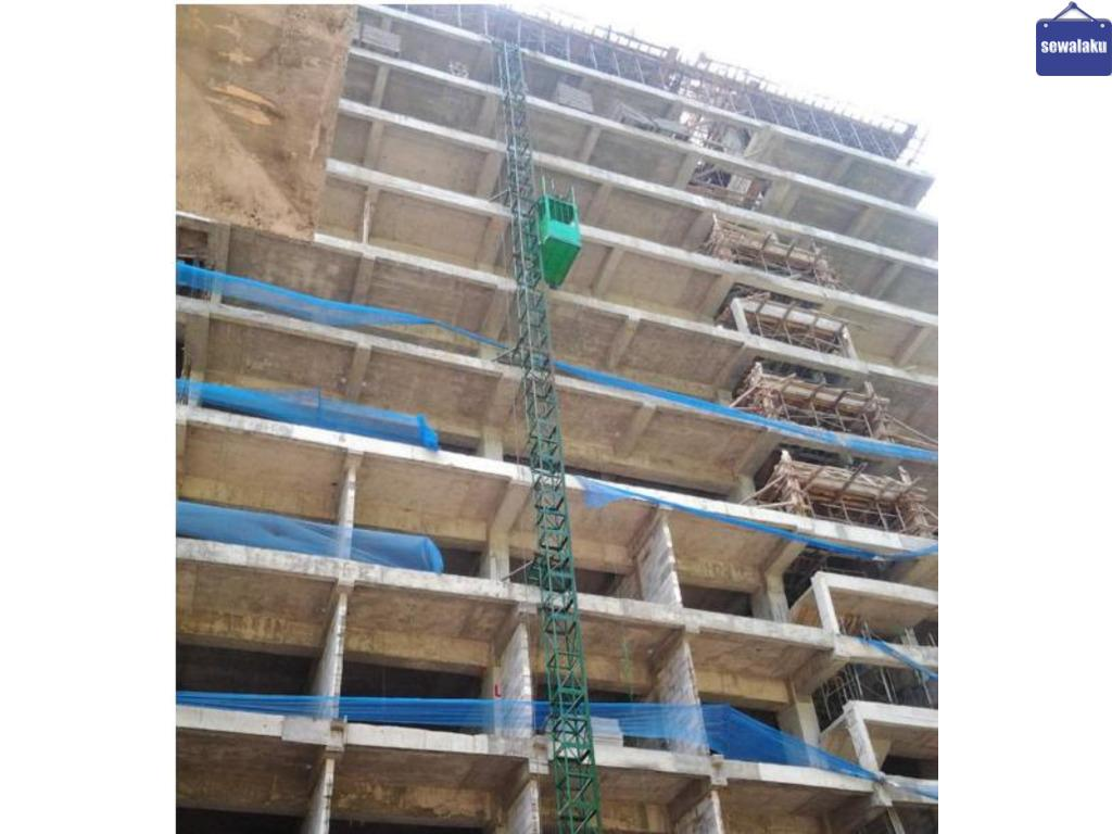 Sewa Lift Proyek Banyuwangi // Lift Material // Lift Barang // Cargo Lift