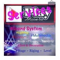 rental / persewaan / sewa sound system , lighting