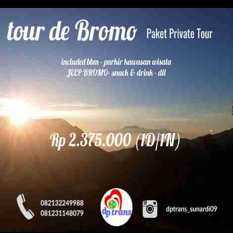 Private Wisata - Tour de Bromo