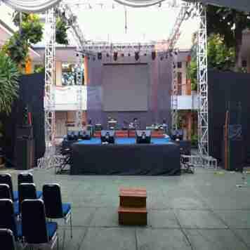 jasa rental sound system/lighting led screen TV tenda Sarnafil dll