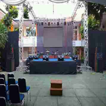 jasa rental sound system/lighting led screen TV tenda Sarnafil dll