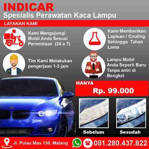 Jasa Poles Mobil Malang