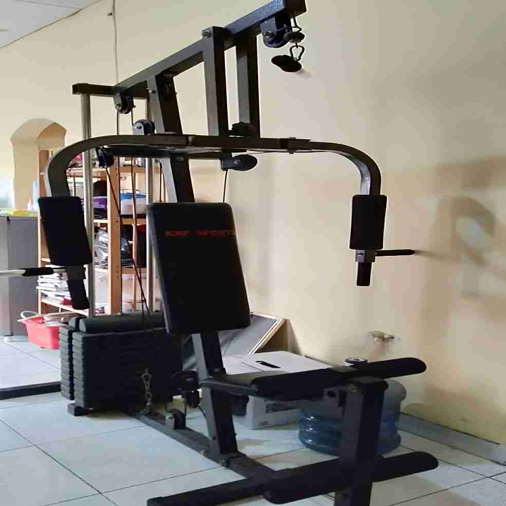 dijual alat fitness home gym