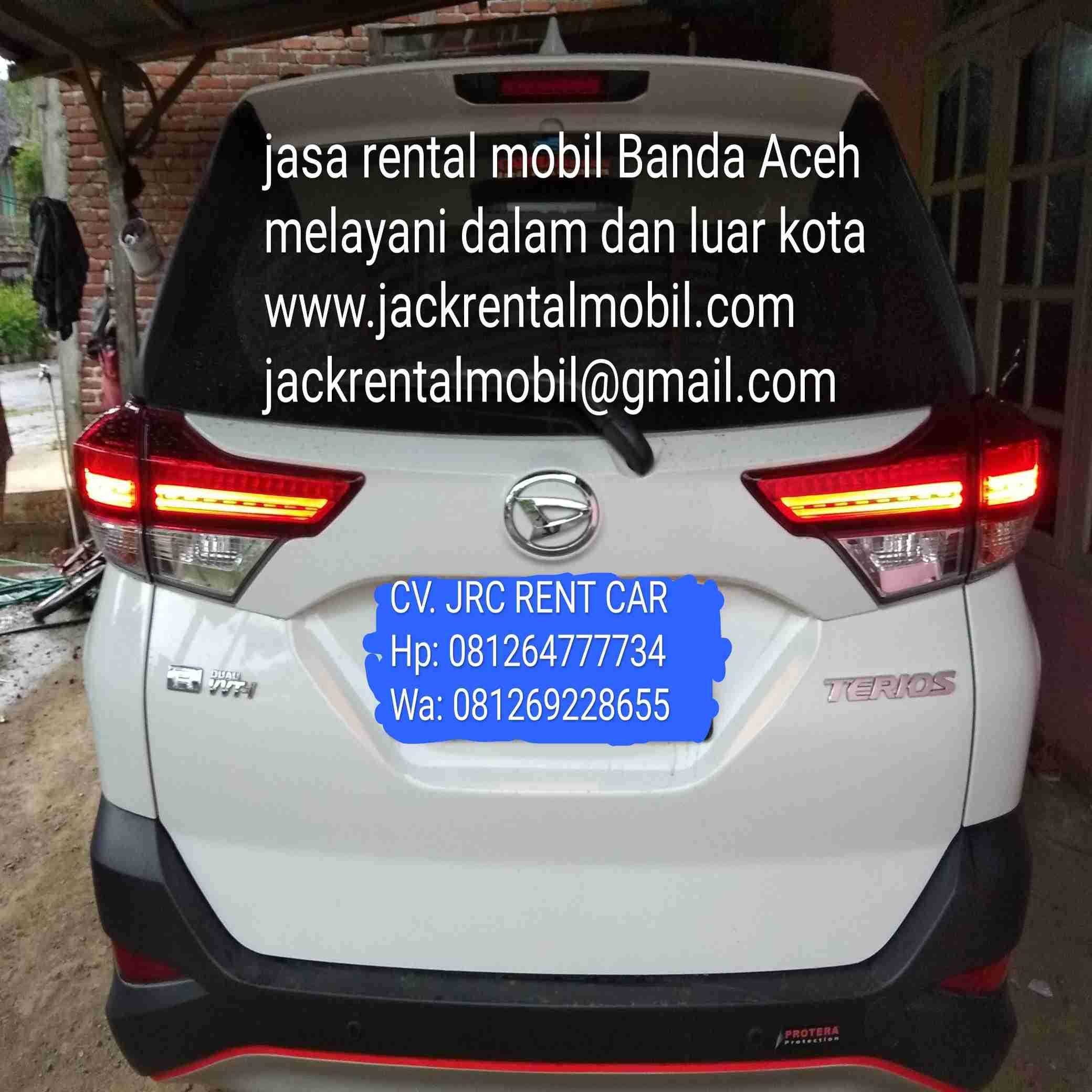 CV JRC RENT CAR jasa rental mobil di Banda Aceh