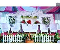 Sewa tenda, alat pesta dan dekorasi lengkap
