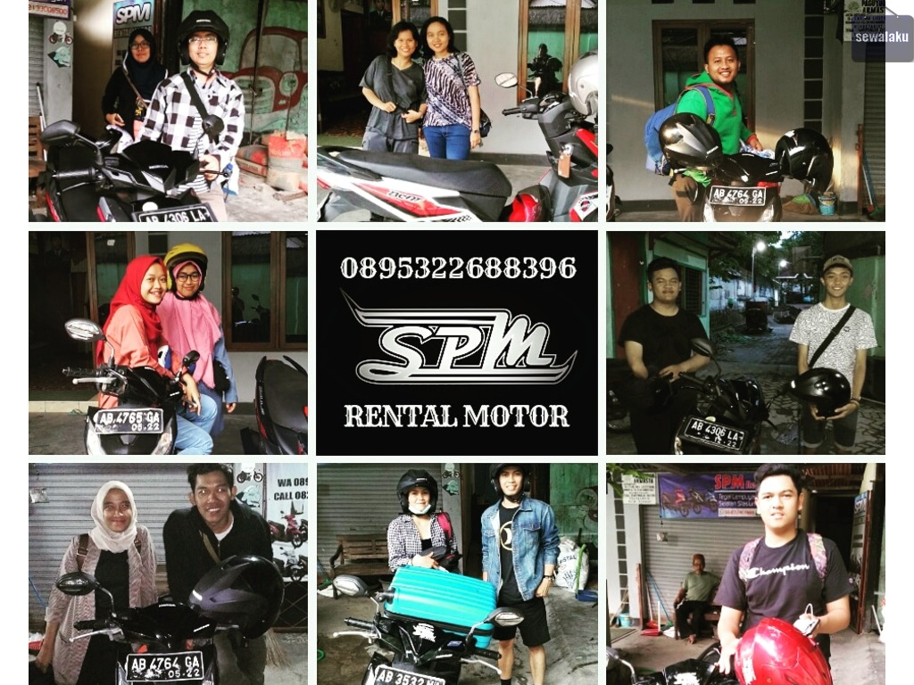 Sewa motor murah jogja | SPM Rental