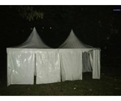 Sewa Tenda Kerucut, AC 5 PK, Kursi Futura, DLL