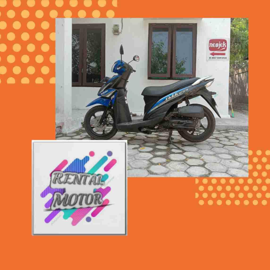 rental motor Neojek Palangkaraya