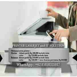 rental printer LaserJet surabaya