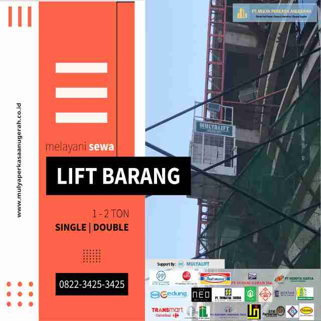 lift barang kalimantan