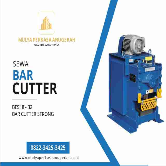 sewa lift bar bending dan bar cutter