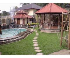 Villa Bifha Disewakan di Puncak Cisarua Bogor