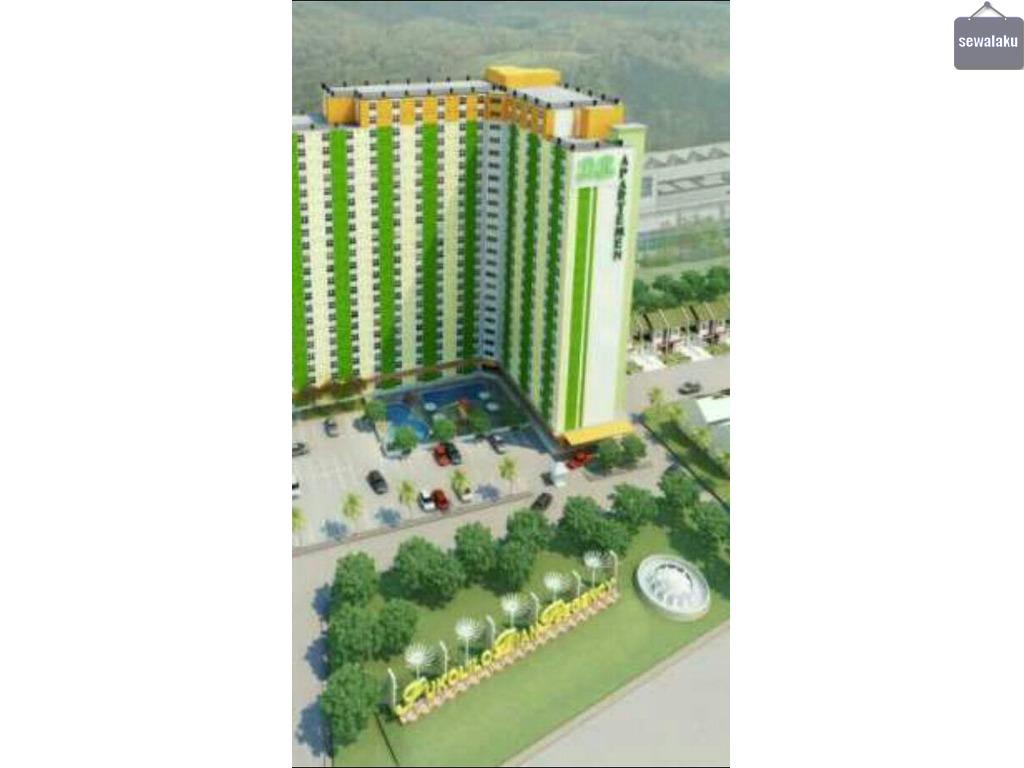 Apartemen 2 kamar tidur prabot komplit 2AC di Dian Regency, Sukolilo Surabaya