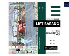 SEWA LIFT BARANG / SEWA BAR BENDING / SEWA BAR CUTTING DI WONOSOBO