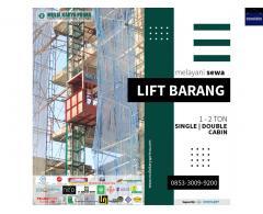 SEWA LIFT BARANG / SEWA BAR BENDING / SEWA BAR CUTTING DI SUBANG