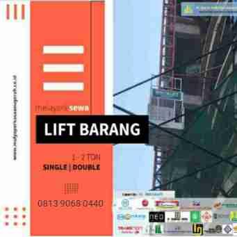 kaleng cat / lift barang / nego