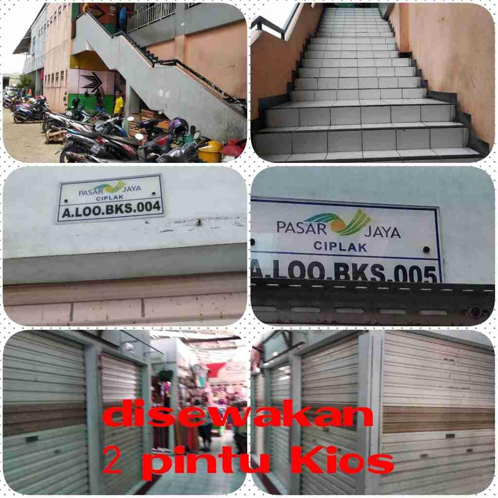 Disewakan Kios